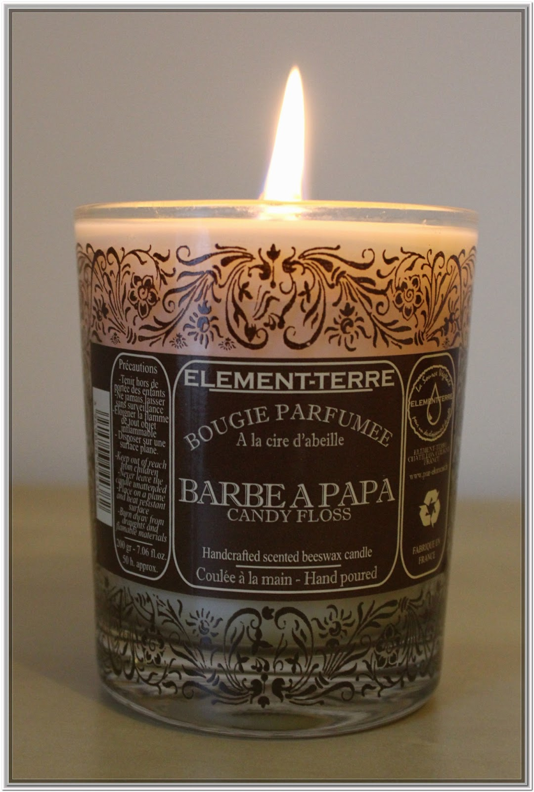 Bougie Barbe à papa de Element-Terre