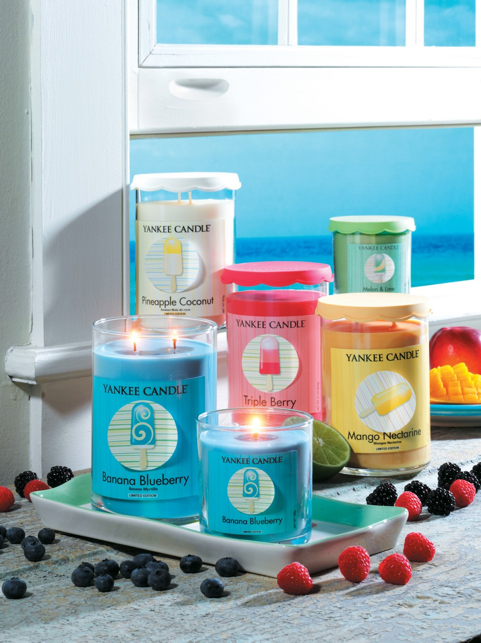 Collection Cool Pops Yankee candle 2013