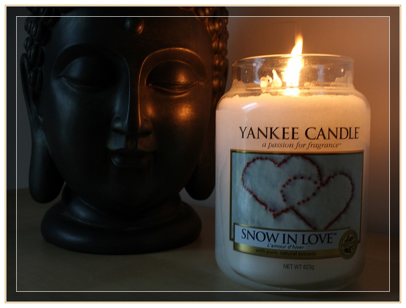 Snow in love de Yankee Candle