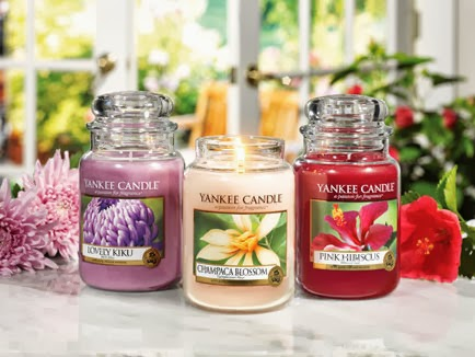Collection Printemps été  2014 Yankee candle