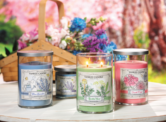 Collection Dream Garden 2014 de Yankee Candle