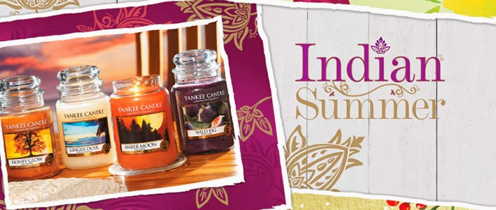 Collection  Indian Summer Yankee Candle  Automne 2014