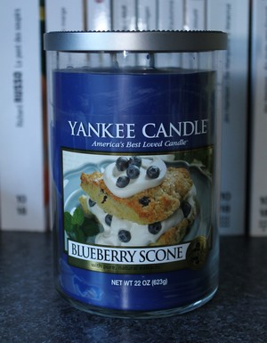 Blueberry scone de Yankee Candle