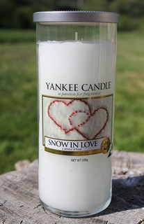 bougie cocooning Snow in love de yankee candle