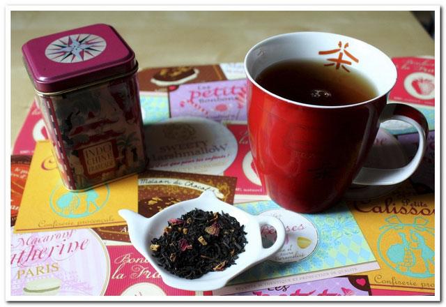 thé noir Noël à St Petersbourg de Dammann frère