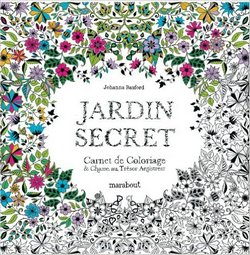 album colorier Jardin secret