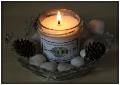 Bougie bois de figuier - BougieCréa   3