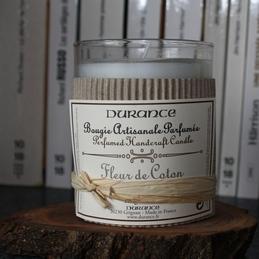 Bougie Fleur de coton Durance