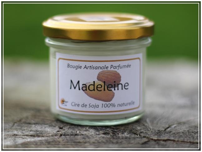 Bougie Madeleine de BougieCréa