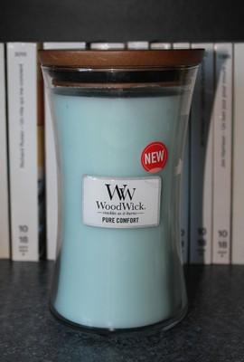 Bougie Pure comfort de Woodwick  1