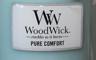 Bougie Pure comfort de Woodwick