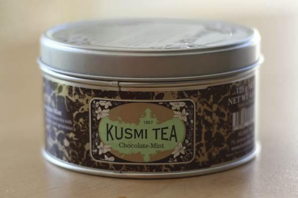 Chocolat-Menthe Kusmi tea Mon avis