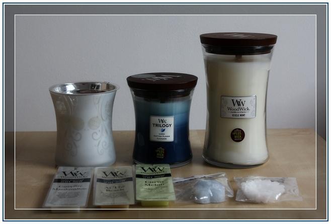 Commande bougies Woodwick Quali-Art et Yankee