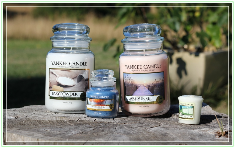 Haul Yankee Candle Aout 2013