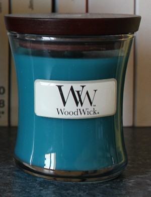 Bougie Dew drops de Woodwick
