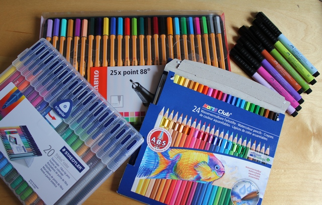 coloriage anti stress quel crayon