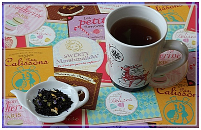 thé noir Dammann frère.