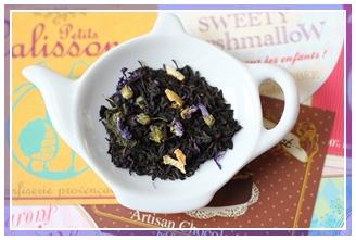 Mélange des chérubins – thé noir Dammann frère.
