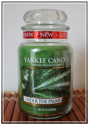 Under the Palm Yankee Candle