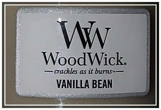 bougie vanille woodwick