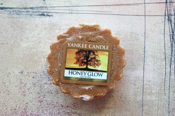 honey glow de  yankee candle