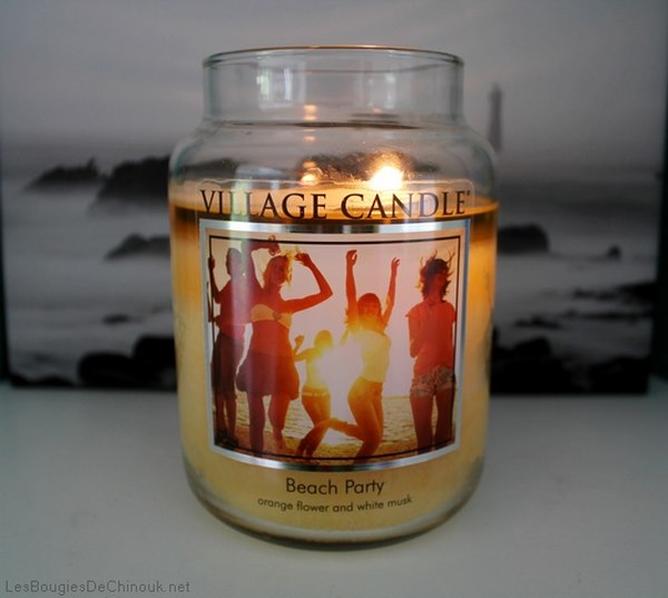 Beach party  de village candle