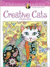 Coloriage anti-stress Creative Cats