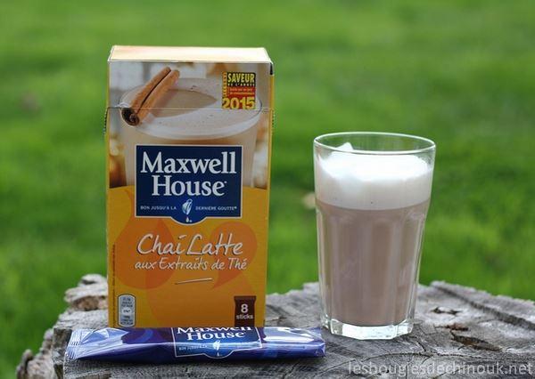 Le Chaï Latté de Maxwell house