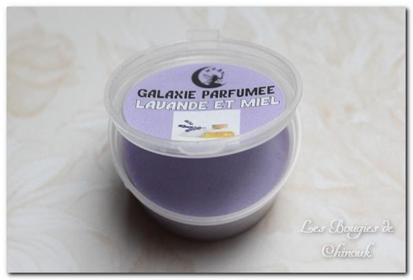 cire lavande miel de Galaxie parfumée