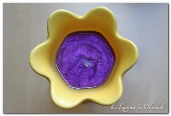 lavande miel cire parfumée