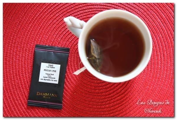 Thé noir Pecan pie de Dammann