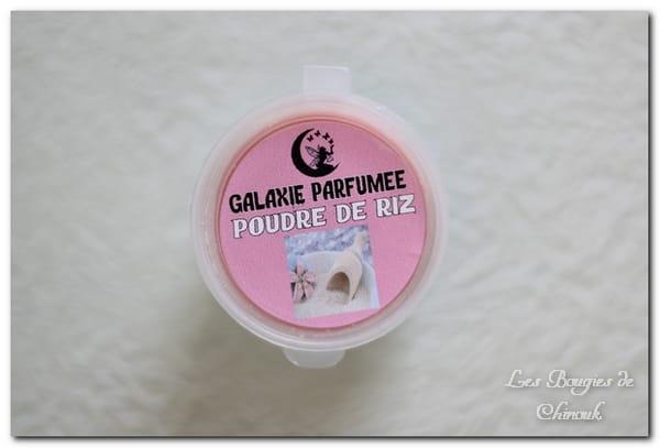Poudre de riz de Galaxie Parfumée + concours