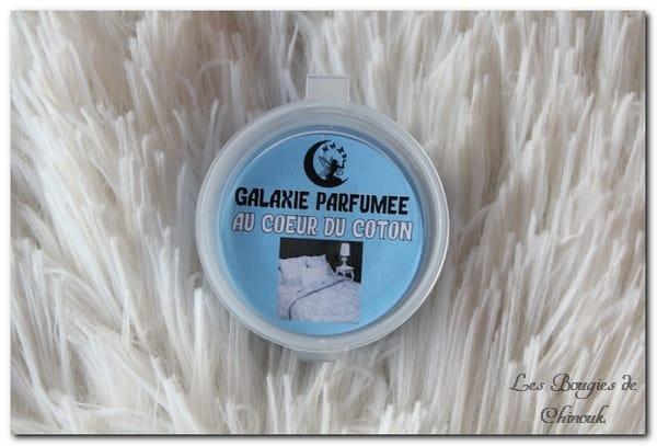 Au cœur du coton – Galaxie Parfumée