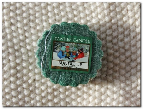 Bundle Up de Yankee candle