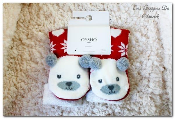 chaussettes Ours de ousho