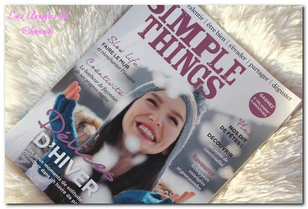 magasine Simple Things