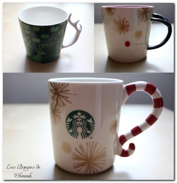 Mes nouvelles tasses Starbucks