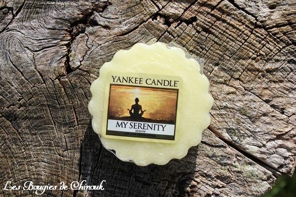 My Serenity / Sérénité de yankee candle