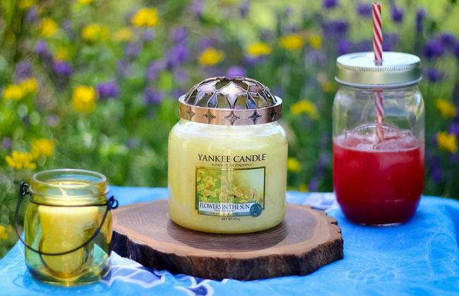 Flowers in the sun de Yankee Candle  🌼