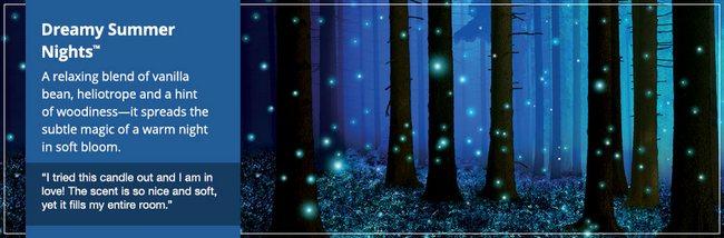 dreamy summer night yankee candle