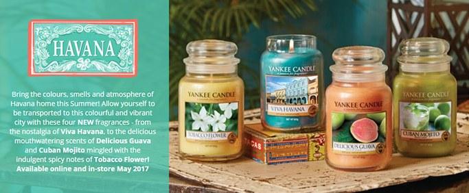 yankee candle ete 2017 havana