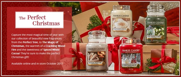 Yankee Candle collection noel 2017 class=
