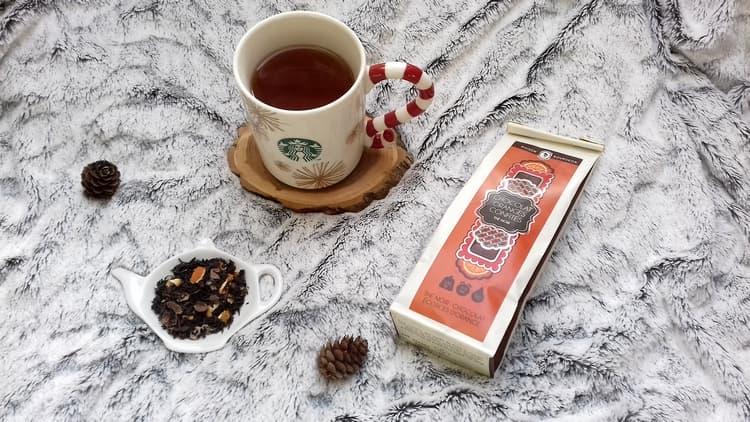 Chocolat Oranges confites – le thé noir de Maison Bourgeon